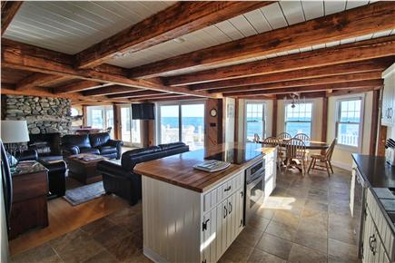 West Yarmouth Cape Cod vacation rental - Kitchen, Living Room, Game Room all with Ocean Views!