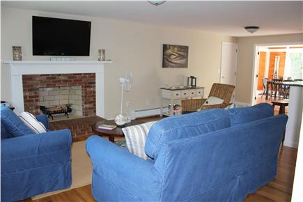 Harwich Cape Cod vacation rental - Living room with flat screen TV