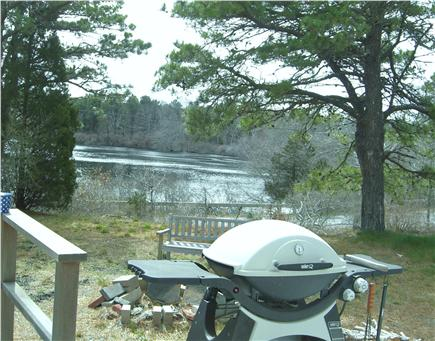 Eastham Cape Cod vacation rental - Grilling with a view!