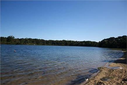Eastham Cape Cod vacation rental - 3 minute's walk to swimming in Great Pond.
