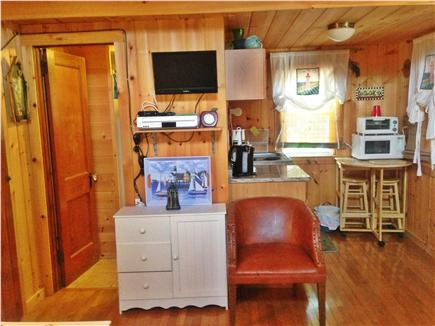 Eastham Cape Cod vacation rental - Kitchen and bathroom view