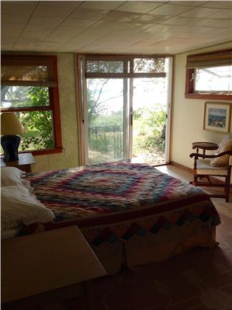 Wellfleet Cape Cod vacation rental - Queen Bedroom with Patio