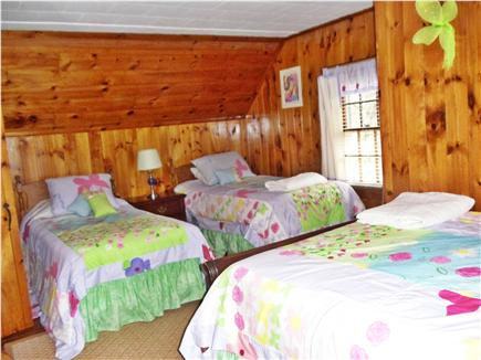 Dennis Port Cape Cod vacation rental - Upper bedroom, 2 twins and a double bed