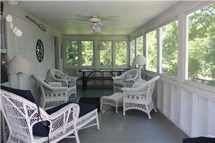 Sagamore Beach Sagamore Beach vacation rental - Screened In Porch