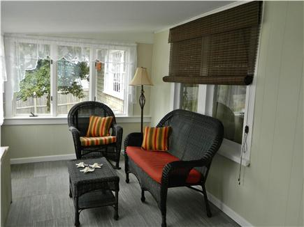 Hyannis Cape Cod vacation rental - One half of the all-season porch