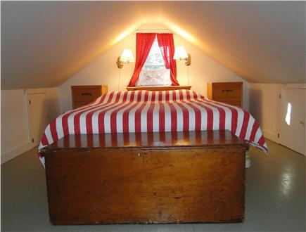 Brewster Cape Cod vacation rental - Loft queen bed in cottage