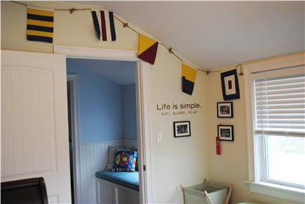 Falmouth Cape Cod vacation rental - Bedroom 4- Bunk beds - sleeps 2.