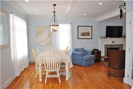 Falmouth Cape Cod vacation rental - Open floor plan. View from the kitchen into the dining room.