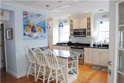 Falmouth Cape Cod vacation rental - Chef's kitchen with all new stainless appliances.