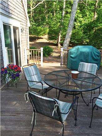 Falmouth, Sippewissett Cape Cod vacation rental - Large sun deck with gas grill