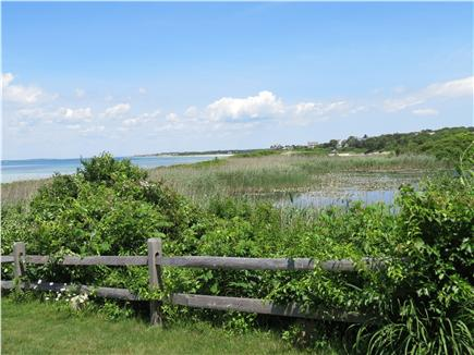 Falmouth, Sippewissett Cape Cod vacation rental - Marsh behind Woodneck beach as seen from path to private beach