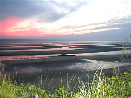 Eastham Cape Cod vacation rental - Sunset over the Bay at Cooks Brook Beach