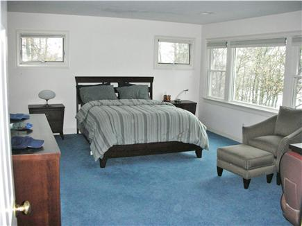 Mashpee Cape Cod vacation rental - Master bedroom with full bath and water view
