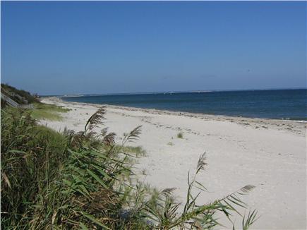 East Sandwich Cape Cod vacation rental - Carleton Shores Beach, a 7-min walk, sand bars at low tide.