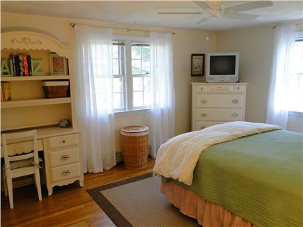 Harwich Cape Cod vacation rental - Another look at 2nd bedroom on first floor with queen and TV