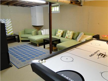 Harwich Cape Cod vacation rental - Large rec area with ping pong and air hockey tables