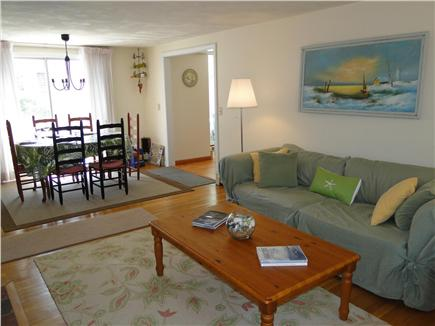 Harwich Cape Cod vacation rental - Living room adjacent to Dining room