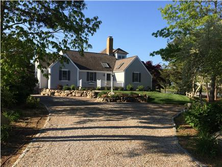 New Seabury New Seabury vacation rental - Front of house on quiet cul de sac with drive for five cars