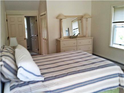 New Seabury New Seabury vacation rental - Downstairs master bedroom with sliding doors to deck