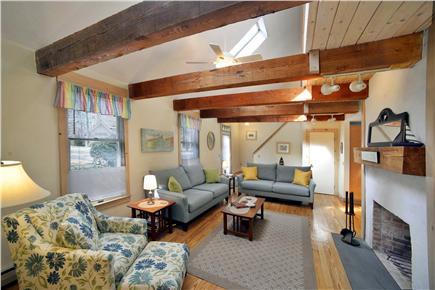 New Seabury, Fells Pond Village, New Seabur New Seabury vacation rental - Spacious Living Room / Skylights Alt. View
