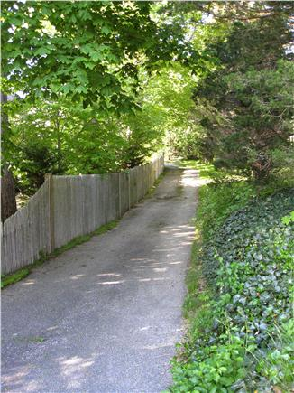 Woods Hole, Quissett Harbor Woods Hole vacation rental - Pathway to residence (Private Drive).