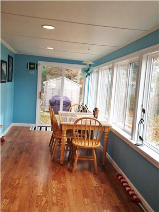 South Yarmouth Cape Cod vacation rental - Beautiful south facing breezeway perfect for any time of the day!