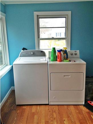 South Yarmouth Cape Cod vacation rental - Laundry!  What else can we say!