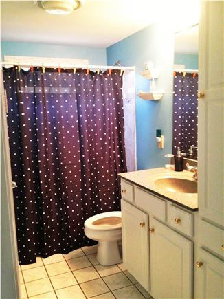 South Yarmouth Cape Cod vacation rental - Updated bathroom with great decor