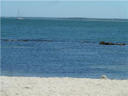 Falmouth Cape Cod vacation rental - View of Martha's Vineyard from Surf Drive beach