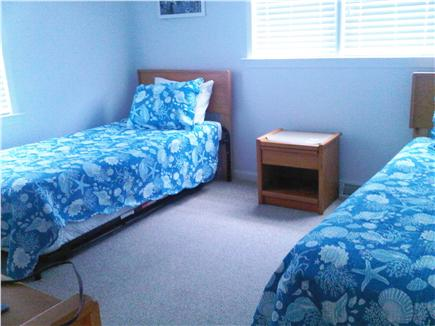 Falmouth Cape Cod vacation rental - Second bedroom with twin and trundle