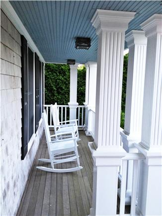 Yarmouth Port Cape Cod vacation rental - Front porch (also 2 patios and outdoor shower)