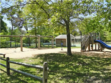 BREWSTER Cape Cod vacation rental - Play across the street - playground, tennis, basketball