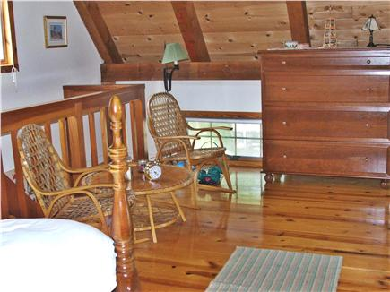 Plymouth, Manomet MA vacation rental - Loft Bedroom & Sitting area
