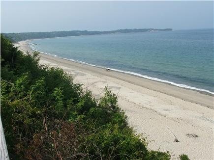 Plymouth, Manomet MA vacation rental - Atop Bluff/stairs, Manomet Beach-3 mile stretch to Manomet Point
