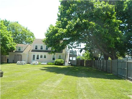Falmouth Cape Cod vacation rental - Large backyard, two picnic tables/hammock and swing