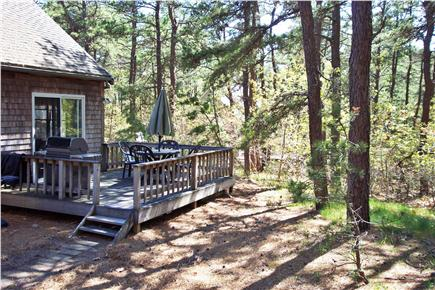 Wellfleet Cape Cod vacation rental - Deck with gas grill