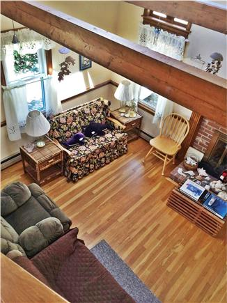 Harwich Cape Cod vacation rental - Living Room, Skylight View