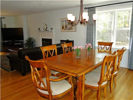 Wellfleet Cape Cod vacation rental - Open living space with dining area