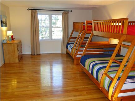 Wellfleet Cape Cod vacation rental - Upstairs bunk bed room, great for kids!