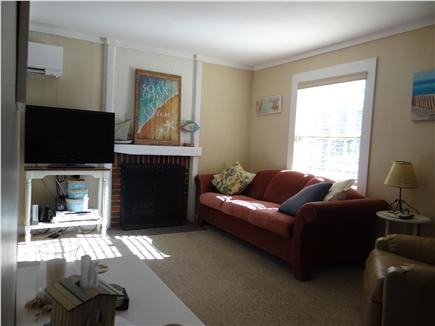 South Yarmouth Cape Cod vacation rental - Living room with 36'' flat screen TV, DVD player & Wii