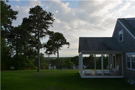 Chatham Cape Cod vacation rental - Open air side deck with views