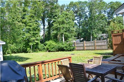 South Yarmouth Cape Cod vacation rental - Yard, grill, shed, outdoor shower