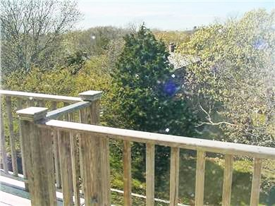 Eastham Cape Cod vacation rental - Very private 3rd floor deck with spectacular views