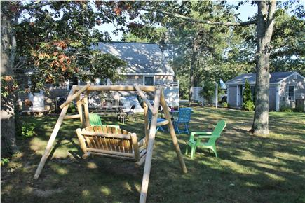 Soulth Chatham Cape Cod vacation rental - Large Back Yard