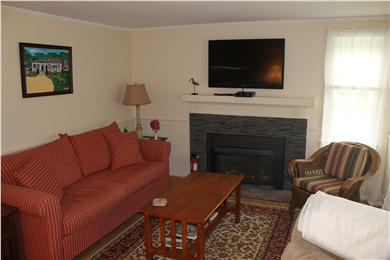Soulth Chatham Cape Cod vacation rental - Living Room in Main House