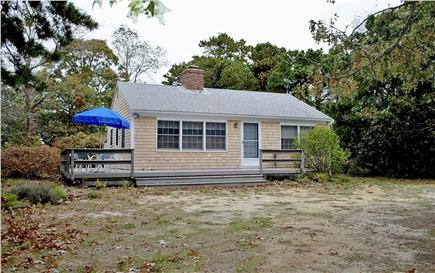North Eastham Cape Cod vacation rental - Privacy and a short walk to bay beach!