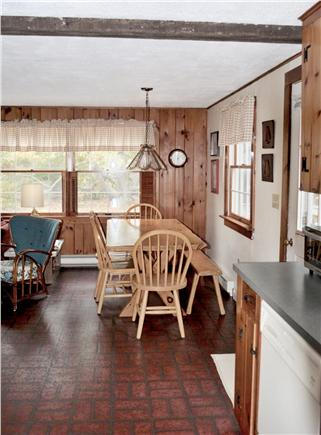 North Eastham Cape Cod vacation rental - View from kitchen towards dining area
