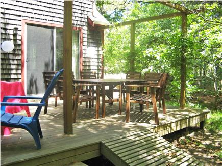 Eastham Cape Cod vacation rental - The deck
