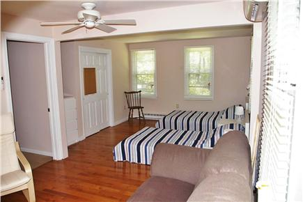 Eastham Cape Cod vacation rental - Bedroom 3, ground floor view from sliders