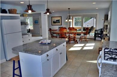 Wellfleet Cape Cod vacation rental - Kitchen and Dining Area